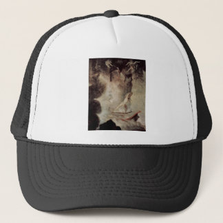 Odysseus In Front Of Scylla And Charybdis Trucker Hat
