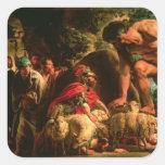 Odysseus Square Sticker