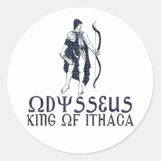 Odysseus Classic Round Sticker