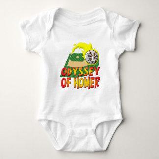 Odyssey Of Homer Baby Bodysuit