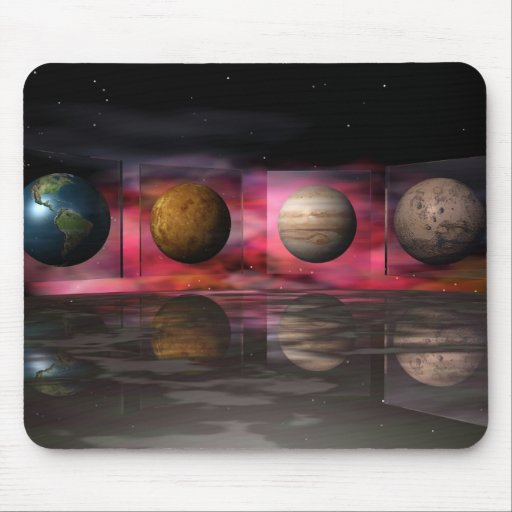Odyssey Space Mouse Pad