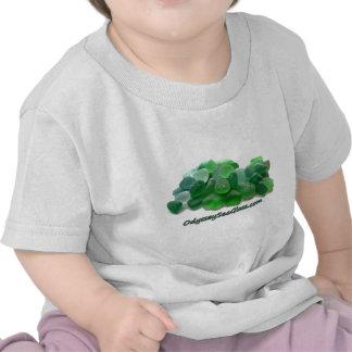 OdysseySeaGlass com Green Sea Glass w Logo Shirt