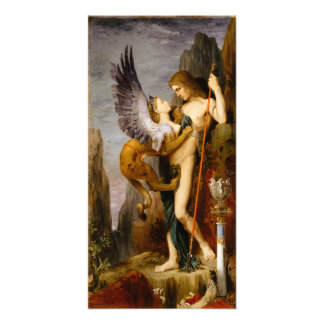 Oedipus and the Sphinx by Gustave Moreau Art Photo