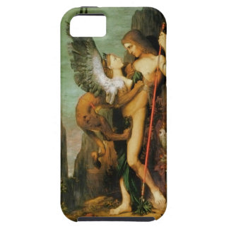 Oedipus and the Sphinx by Gustave Moreau iPhone SE/5/5s Case