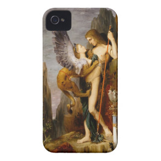 oedipus and the sphinx iPhone 4 Case-Mate case