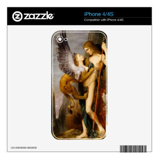 oedipus and the sphinx skin for iPhone 4S