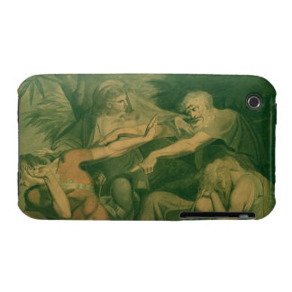 """Oedipus cursing his son Polynices - """"Go to Ruin, S Case-Mate iPhone 3 Cases"""