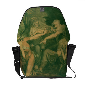 "Oedipus cursing his son Polynices - ""Go to Ruin, S Messenger Bag"