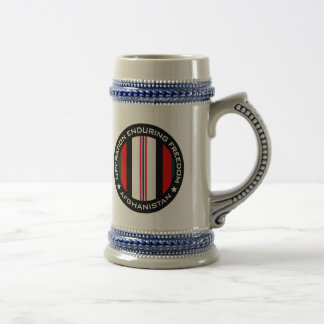 OEF Afganistán Jarra De Cerveza
