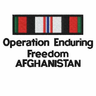 OEF Afghanistan ribbon Hoodie