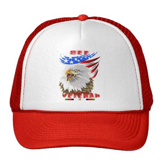 OEF Afghanistan Veteran Hat