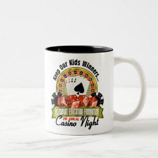 OEF CasinoNight - Customizable Two-Tone Mug