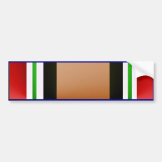 OEF Iraq Veteran Ribbon Bumper Sticker