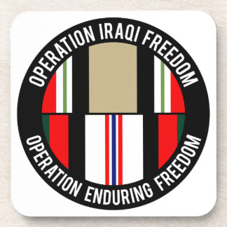 OEF - OIF DRINK COASTER