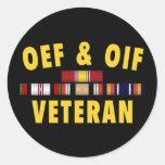 OEF & OIF Sticker