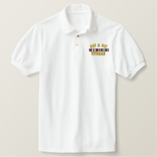 OEF & OIF Vet Embroidered Shirt