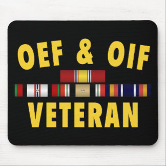 OEF & OIF Vet Mouse Pad