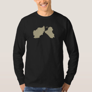 OEF OIF Vet Shirt W/ Map Front