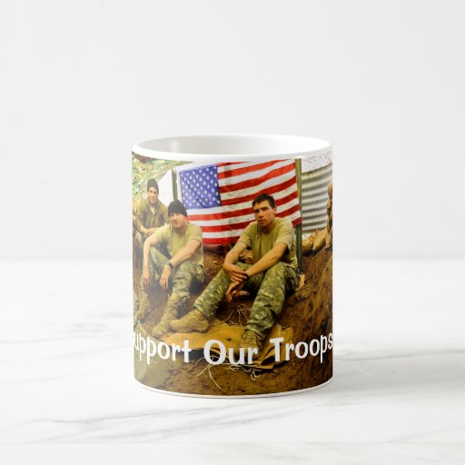 OEF Soldiers, Support Our Troops Coffee Mug
