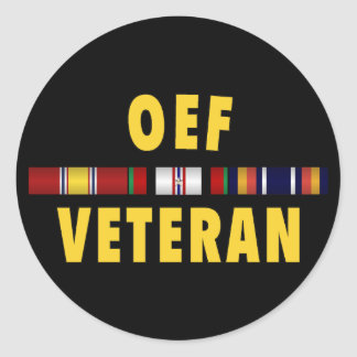 OEF Vet Sticker