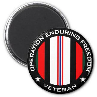 OEF Veteran Magnet