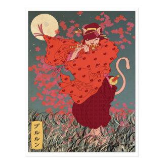 Oekiyo-e Polly Postcard