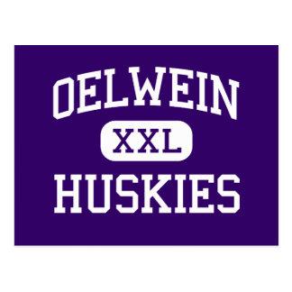 Oelwein - perros esquimales - mayor - Oelwein Iowa Tarjetas Postales