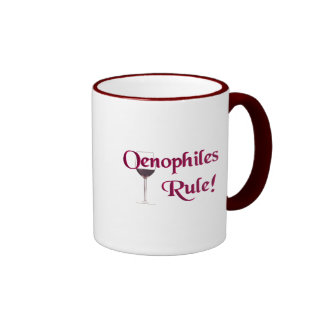 Oenophiles Rule Mugs