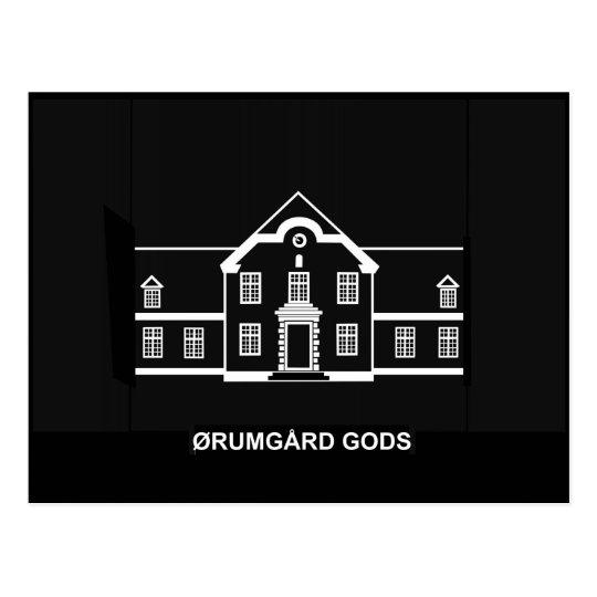 Oerumgaard Manor House - Logo Postcard