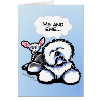 OES and Ewe Custom Card