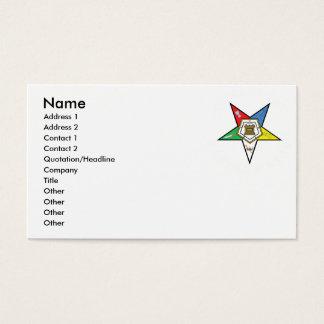 OES Biz cards