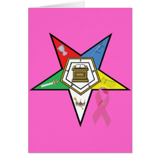 OES Breast Cancer Card
