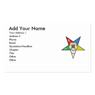 OES Business card