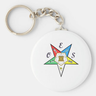 OES Chapter Key Chain