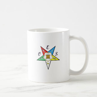 OES Chapter Mugs Basic White Mug
