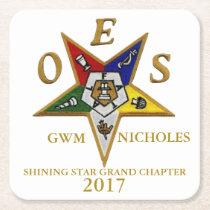 OES CUSTOM SQUARE COASTERS