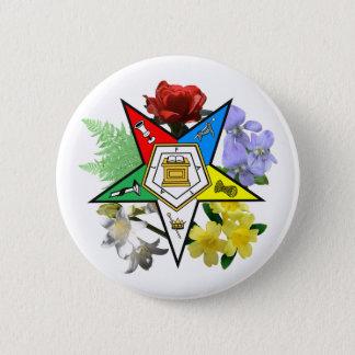 OES floral Emblem Button