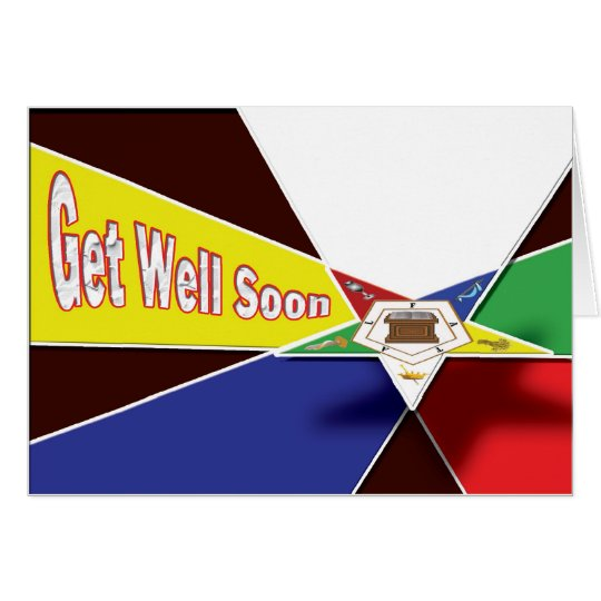 OES Get Well Soon Card