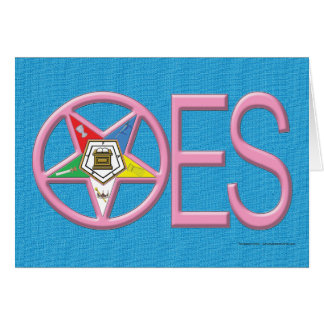 OES Greeting Card