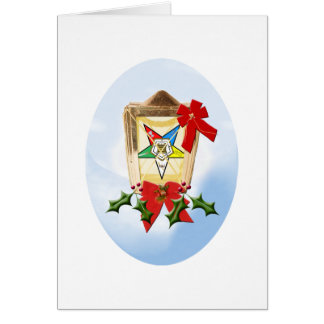 OES Holiday Lantern Card