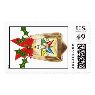 OES Holiday Lantern Postage