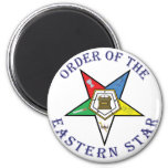 OES LETTERED 2 INCH ROUND MAGNET