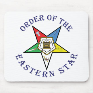 OES LETTERED MOUSE PAD