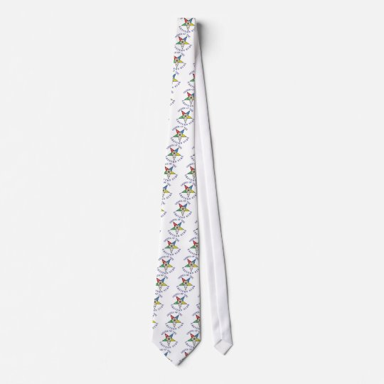 OES LETTERED NECK TIE