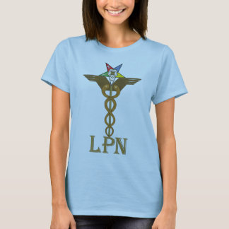 OES LPN Caduceus T-Shirt