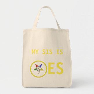 OES MY SIS IS TOTE BAG