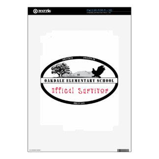 OES Official Survivor Gear iPad 2 Decals