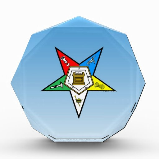OES Order of the Eastern Star Blue Award