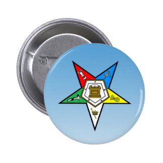 OES Order of the Eastern Star Blue Button