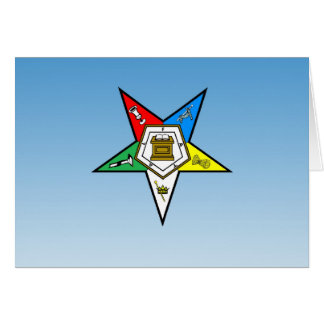 OES Order of the Eastern Star Blue Card